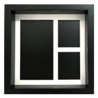 Black Wooden Frame (L)